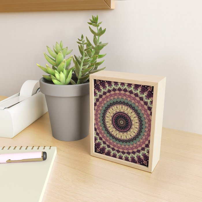 Mandala 273 Framed Mini Art Print
