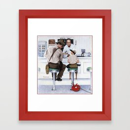 The Orphan Framed Art Print