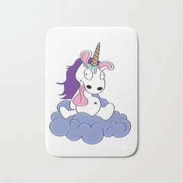 foolish drunk Unicorn waffle Present gift Bath Mat