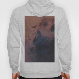 Dark Color Abstract Painting Hoody