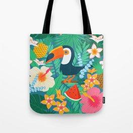 Tropical Flow Tote Bag