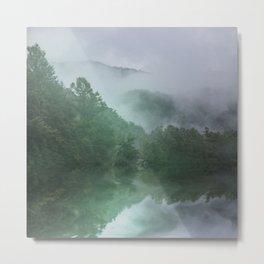 NC Foggy Morning Metal Print
