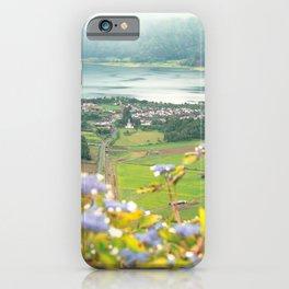 Sete Cidades crater lake iPhone Case
