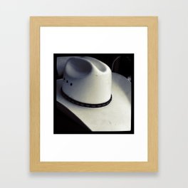 Cowboy Hat Framed Art Print