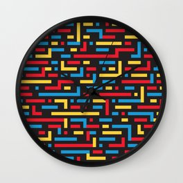 MOVE w/black Wall Clock