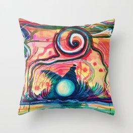 Paesaggio Sottomarino Throw Pillow