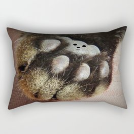 The Teddy Cat Rectangular Pillow