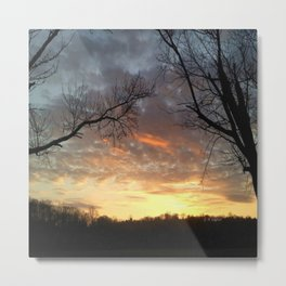 """Sundown"" Metal Print"
