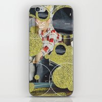 pony iPhone & iPod Skins featuring PONY by WeLoveHumans