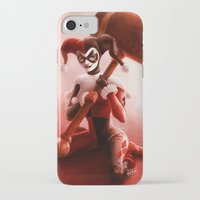 harley iPhone & iPod Cases featuring Harley by fabvalle