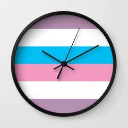Intersex Flag v1 Wall Clock