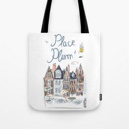 Place Plum'de Tours Tote Bag