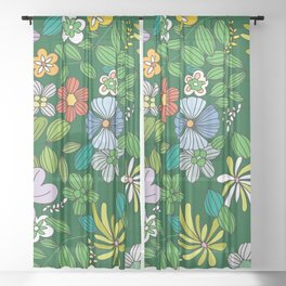 My Flower Design 8 Sheer Curtain
