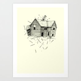 home blown Art Print