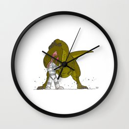 Cross-Time Robot Wall Clock