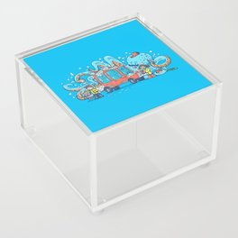 Octopus Carwash Acrylic Box