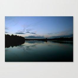 Jewel Lake Canvas Print