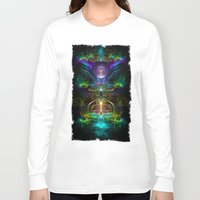 neon Long Sleeve T-shirts featuring Neon by Manafold Art