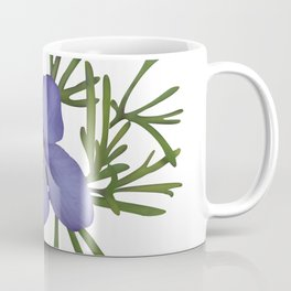 Viola Pedata, Birds-foot Violet #society6 #spring Coffee Mug
