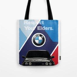 Respect Your Elders - 3 Tote Bag
