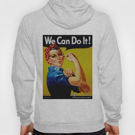 We Can Do It - WWII Poster Hoody