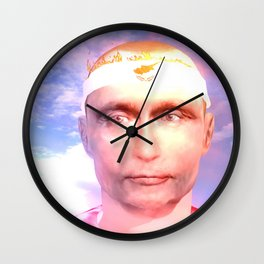 Ciprus Fire Starter Wall Clock