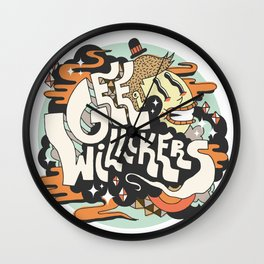 Gee Willikers! Wall Clock