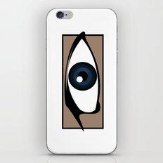 Blue Gaze iPhone & iPod Skin