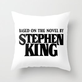 Based on the Novel Throw Pillow