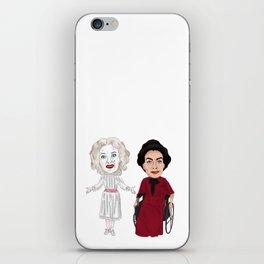 Whatever Happened to Baby Jane, Bette Davis, Joan Crawford Inspired Illustration iPhone Skin
