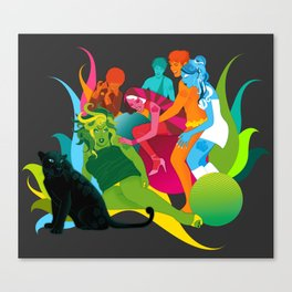 NYC Studio 54 Canvas Print