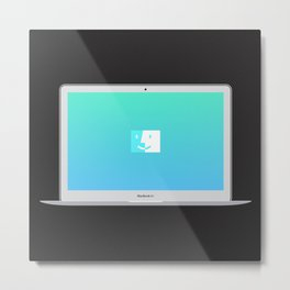 MacBook Air  Metal Print