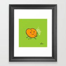 Apricot St Germain Framed Art Print