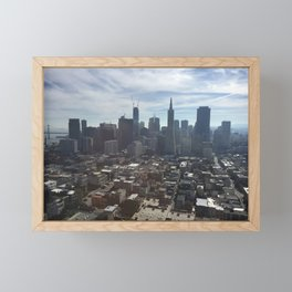 San Francisco California Framed Mini Art Print