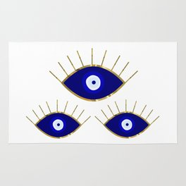 All Evil Eyes on You Rug