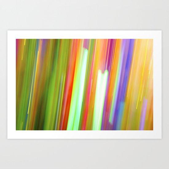 Paint & Sequins 8158 Art Print