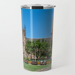 St Mary's Cathedral, Sydney, Australia Travel Mug