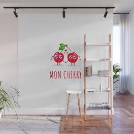 Mon Cherry Wall Mural
