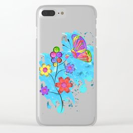 Season of Colors Clear iPhone Case