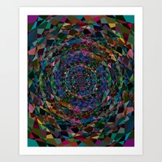 The Lovely Universe Art Print
