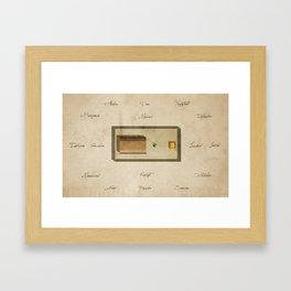 Numbers 2:2 Framed Art Print