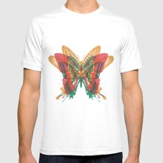 Butterfly Rorschach, Ya Know, For Kids! White Mens Fitted Tee MEDIUM