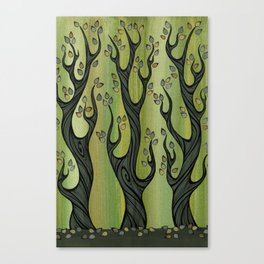 3 Trees Canvas Print