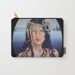Plastic Southern California Mermaid Carry-All Pouch