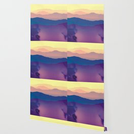 water color landscape layers Wallpaper
