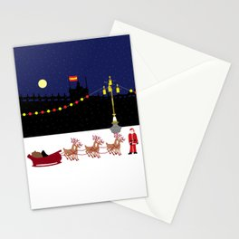 Santa in Madrid Stationery Cards