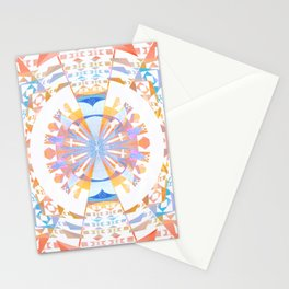 Rainbow Earth Souls Healing Mandala Stationery Cards
