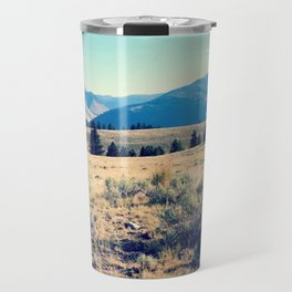 The High Plains of Lamar Valley: Yellowstone National Park Travel Mug