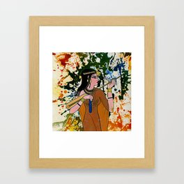 The Egyptian Enchantress by Michael Moffa Framed Art Print
