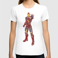ironman T-shirts featuring Ironman by PlayWithFireDieInIce